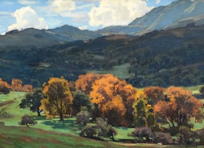 "alt=""William Wendt California Landscape"""