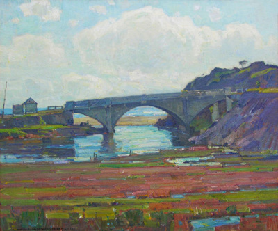 William Wendt New Bridge