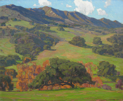 """William Wendt Verdant Fields"""